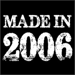 Made In 2006 BIRTHDAY Gift Year of Birth