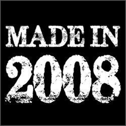 Made In 2008 BIRTHDAY Gift Year of Birth