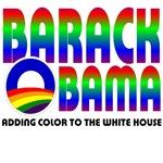 Barack Obama Adding Color...