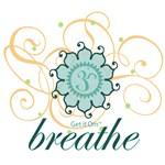 Get it Om. Breathe, Yoga Design, Soft Colors