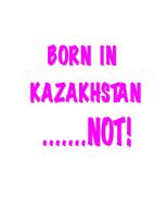 PINK BORN IN KAZAKHSTAN...NOT!!