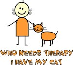 Who Needs Therapy, I Have My Cat