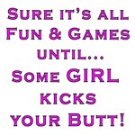 Girls Kick Butt