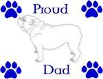 Proud Dad-Blue