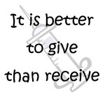 Better to Give...
