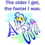 The older I get...