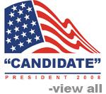 President Flag 2008