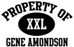 Property of Gene Amondson