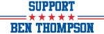 Support BEN THOMPSON