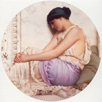 Grecian Girl in Lavender