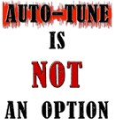 Autotune is not an option