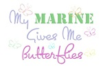 My Marine Gives Me Butterflies