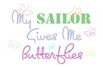 My Sailor Gives Me Butterflies