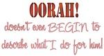OORAH! Doesn't Even BEGIN