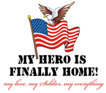 My Hero Is Finally Home - ARMY