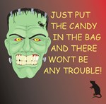 PUT CANDY IN BAG