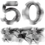 50 in Gray Smoke