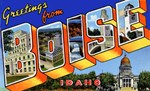Boise Idaho Greetings
