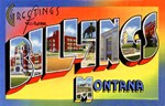 Billings Montana Greetings