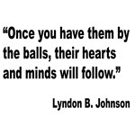 Johnson Hearts and Minds Quote