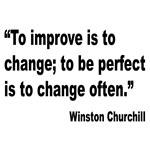 Churchill Perfect Change Quote