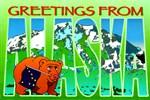 Alaska Alaskan Greetings