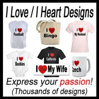 I Love / I Heart Designs