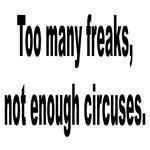 Too Many Freaks