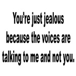 Voices Talking to Me Humor