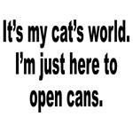 It's A Cat's World Humor