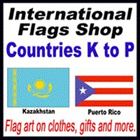 International Flags Shop (K - P)
