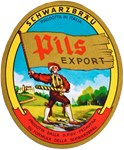 Italy Beer Label 2