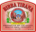 Albania Beer Label 3
