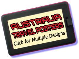 Australia Travel Posters