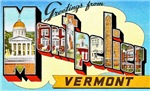 Montpelier Vermont Greetings