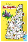 New Hampshire Map Greetings