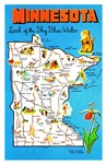 Minnesota Map Greetings