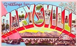 Marysville California Greetings