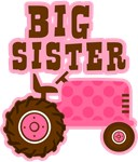 Pink Tractor Big Sister