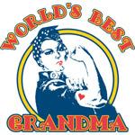 Rosie Riveter Best Grandma