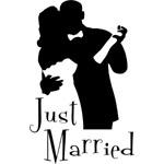 Elegant Just Married