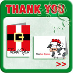Holiday Thank You Notes & Gifts