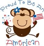 Proud American Girl Monkey