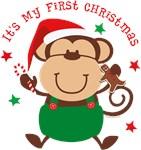 Monkey Boy 1st Christmas