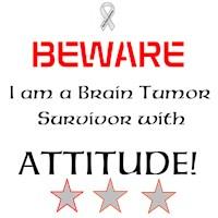 Brain Tumor Survivor with Attitude