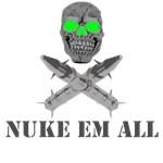 Military T's-Nuke Em all design