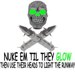 Pro War Shirts for prowar nuke em fans