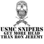 Sniper T Shirts-USMC Scout Sniper theme