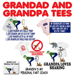 I love Grandpa Baby Shirts and Grandpa gifts