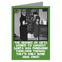 Crude Christmas cards-crude Christmas humor